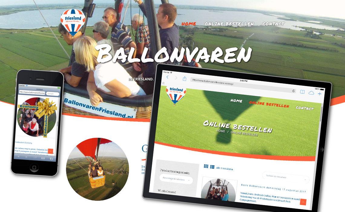 Webshop ballonvarenfriesland.nl