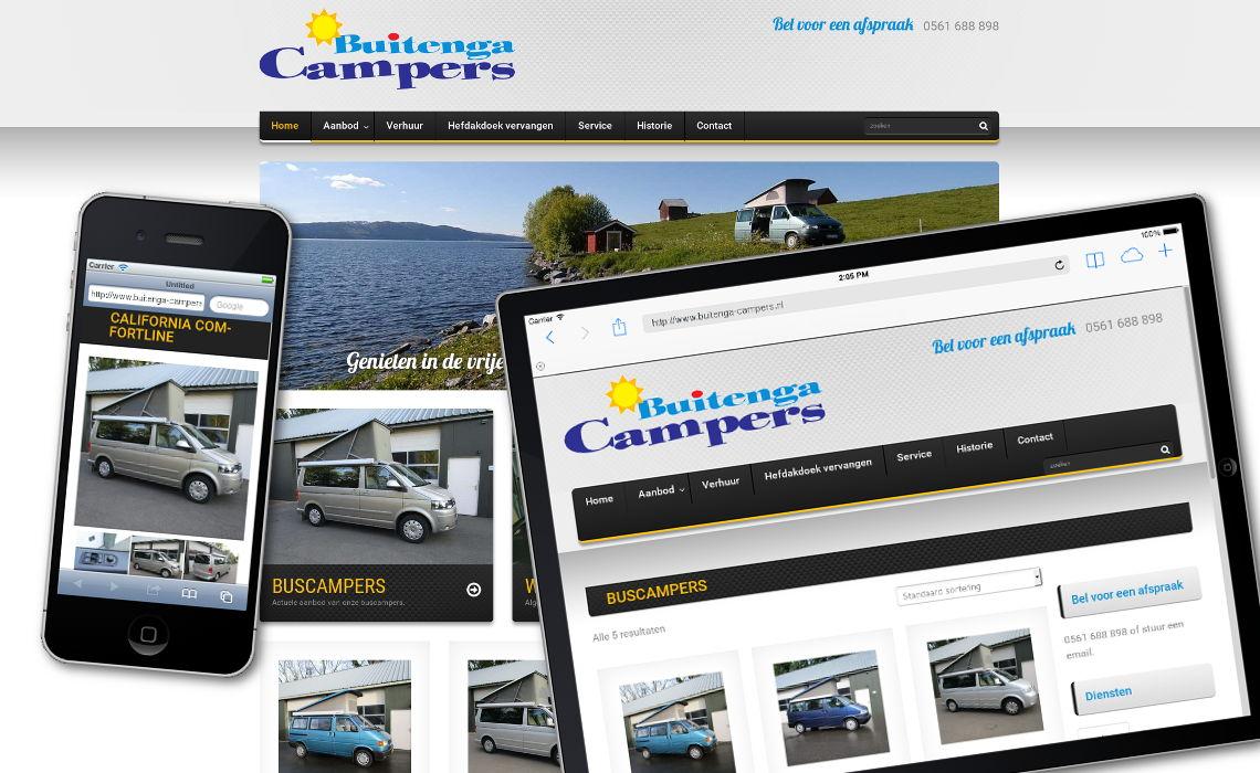 Webshop buitenga campers.nl
