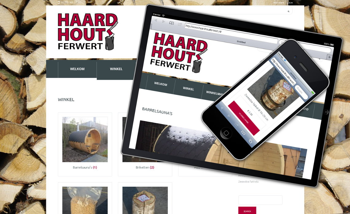 Webshop haardhoutferwert.nl
