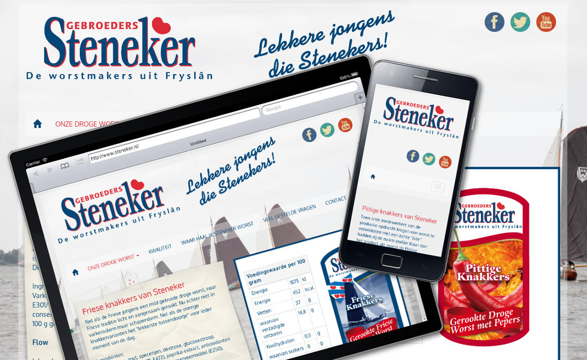 Website steneker.nl