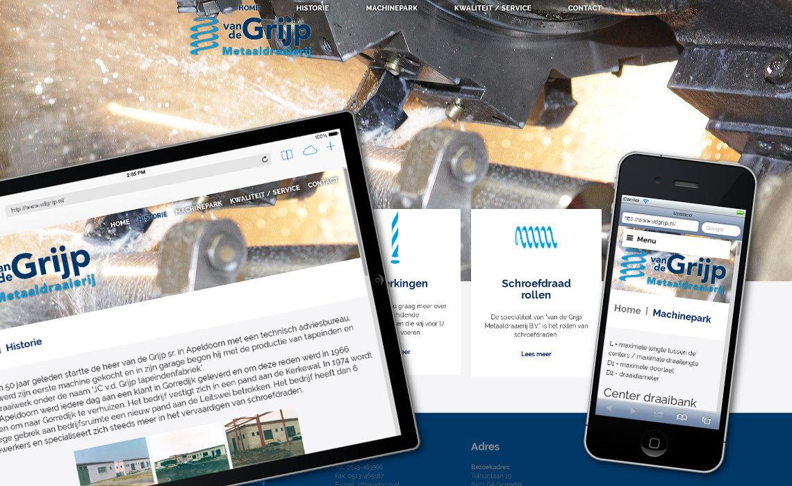 Website vdgrijp.nl